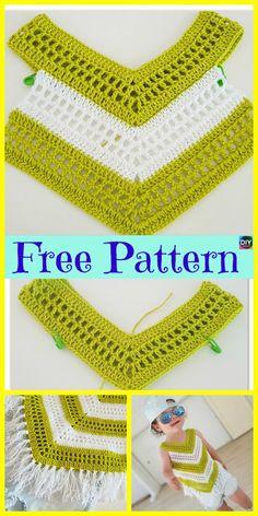 Crochet Little Girl Summer Top – Free Pattern #freecrochetpattern #summertop