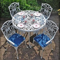white garden furniture - Szukaj w Google