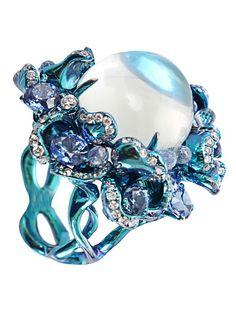 Arunashi high jewelry - moonstone ring