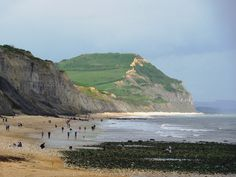 The Jurassic Coast at Charmouth, a popular spot for fossil hunting - Dorset, England by Evergreen2005