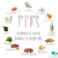 Alimentos a evitar primer año