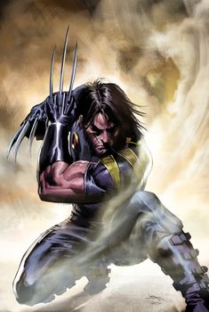 Wolverine by Gabriele Dell