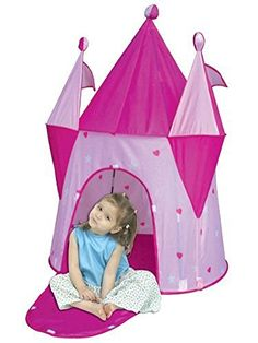 Fairy Castle Girls Play Tent Princess Pink Dream House PTLF //.  sc 1 st  Pinterest & Discovery Kids Princess Castle Tent | CAMIu0027S X-MAS | Pinterest ...