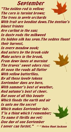 One of my favorite poems.....