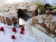 Ciasto makowo-gruszkowe