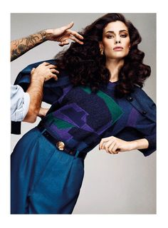 (via Marica Pellegrinelli Sports 80 s Glam for S Moda) Moda Vintage e19a51d1c65