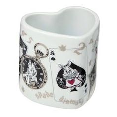 Heart Shaped Alice in Wonderland Mug  From Japan's Disney Store