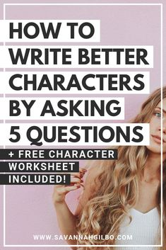 5 Questions to Help You Write Compelling Characters 5 Questions to Help You Write Better Characters Creative Writing Tips, Book Writing Tips, Writing Words, Cool Writing, Fiction Writing, Start Writing, Writing Resources, Writing Help, Writing Skills