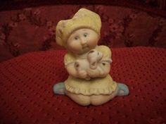 Cabbage Patch Kid figurine by ALEXLITTLETHINGS on Etsy, $19.99