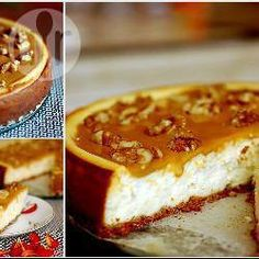 Cheesecake de doce de leite e nozes @ allrecipes.com.br