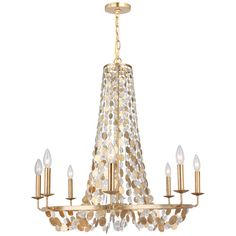 Found it at Joss & Main - Kenneth 8-Light Candle Chandelier $559