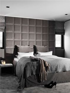 The bedroom it's one of the most important places in your house. You must keep the harmony there to have a good night of sleep. See more interior design ideas here www.covethouse.eu