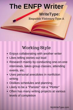 The ENFP Writer