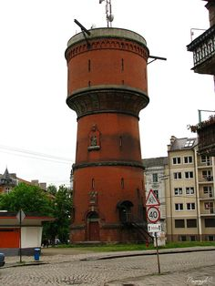 kaliningrad+russia,water+tower   Ancient water tower