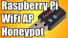 Raspberry Pi Wifi Honeypot Access Point Demo