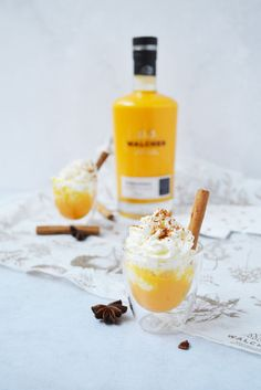 ©Walcher Bombardino | www.feestdagendrankje.nl Cocktails, Drinks, Breakfast Time, Happy Hour, Winter Wonderland, Panna Cotta, Om, Yummy Food, Sweets