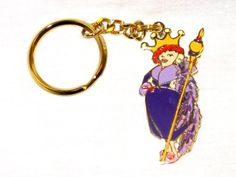 Red Hat Society Queen Ruby Keychain $9.95