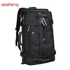 eac5f44699f9 Sports Bags · Large Capacity 40L Outdoor Backpack Unisex Travel  Multi-purpose Climbing Backpacks Hiking Big Capacity Rucksacks