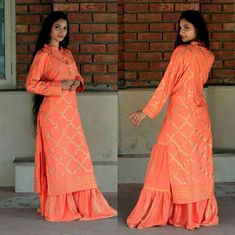 ✈Latest designer kurtis 🛬 🥦🥦For price, details , enquiry & booking please WhatsApp🥦 /inbox me or send me your WhatsApp . Sharara, Pakistani Outfits, Punjabi Suits, Designer Dresses, Kurtis, Gowns, Indian, Womens Fashion, Fabric