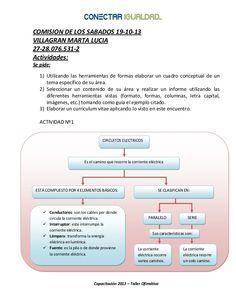 COMISION DE LOS SABADOS 19-10-13 VILLAGRAN MARTA LUCIA 27-28.076.531-2 Actividades: Se pide: 1) Utilizando las herramienta...