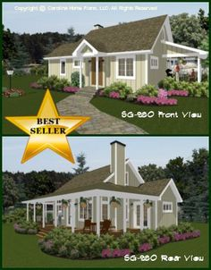 Affordable Small House Plans | Small Home Floor Plans I once wanted a huge house, but now, I want small, well-planned out, one story living.