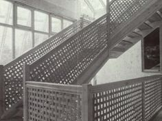 Treppe in einem Wohnhaus in München