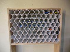pvc pipe storage - Google Search