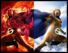 The Sentry, The Void - One of the more interesting Marvel characters.