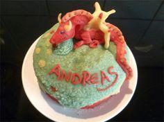 Drachen Torte