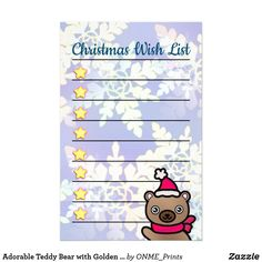 Adorable Teddy Bear with Golden Stars Christmas Stationery #Onmeprints #Zazzle #Zazzlemade #Zazzlestore #Zazzleshop #Zazzlestyle #Adorable #Teddy #Bear #Golden #Stars #Christmas #Stationery Christmas Paper, Little Christmas, Christmas Time, Christmas Cards, Merry Christmas, Stationary Gifts, Business Correspondence, Brown Teddy Bear, Christmas Stationery