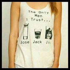 """✴Host Pick×2✴ Jose Jack Jim graphic tank top Hp best in retail 7/22 hp top trends 8/1 Jose Jack Jim graphic tank top Made in USA Material:50% polyester 37% cotton 13% rayon Length:25"""" These are even nicer in person True to size Tops Tank Tops"""