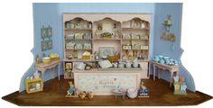 In dit tafereeltje ziet u een selectie van de Jacominis® Beatrix Potter miniaturen.