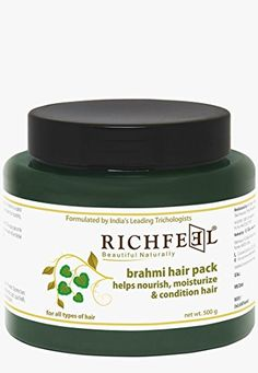 Richfeel Hair Pack Brahmi, 500gm Richfeel http://www.amazon.in/dp/B007E9EFSI/ref=cm_sw_r_pi_dp_x_bMoXyb1S64GAH