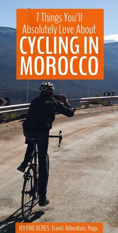 For those who want to get away from the busy cities and tourist towns, we highly recommend cycling in Morocco. Read on to find out what you can expect on a Morocco bike tour. Visit Morocco, Morocco Travel, Africa Travel, Best Travel Guides, Travel Tips, Travel Ideas, Travel Couple, Family Travel, Africa Destinations