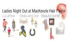 """""""Ladies Night at MacKenzie Hair Parlor"""" by ginacristine on Polyvore featuring beauty and Stella & Dot"""