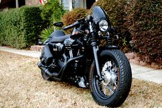 modified HD Sportster