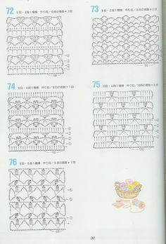 Japan crochet diagram search for wiring diagrams 262 rh pinterest com japanese crochet flower diagram crochet magazines with diagrams ccuart Gallery