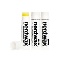3 Tubes of Nerdwax - The Original Glasses Wax - Stop Glasses From Sliding down your nose