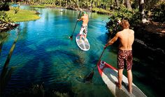 What to do in Miami? Why not try Paddleboarding? For a list of vendors, visit: http://www.miamiandbeaches.com/articles/windsurfing-and-paddleboarding Happy trails, err, waves!