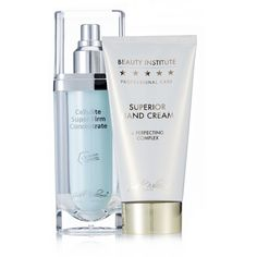 QVCUK OTO Offer... 230884 - Judith Williams Beauty Institute Hand & Body Treatment Collection - QVC PRICE: £29.00 ONE TIME ONLY PRICE: £23.98 + P&P: £3.95 This skincare duo from Judith Williams comprises the Cellulite Super Firm Concentrate and the Beauty Institute Hand Cream to help moisturise your skin and fight key signs of ageing. Look after your skin with this luxurious and hydrating set from Judith Williams.