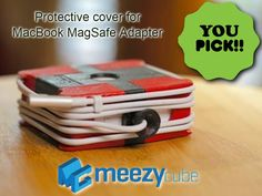 Meezy Cube: Protective cover for MacBook MagSafe Adapter project video thumbnail