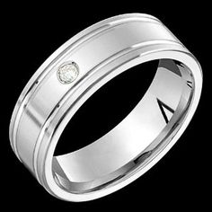 Aleja - Elegant White Gold Ring Wedding Band - Comfort Fit Wedding Ring Finger REVIEW