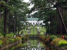 The Mansion, Baguio City (the official residence of the President when in the Summer Capital of the Philippines) Stuff To Do, Things To Do, Baguio City, Flower Festival, Annual Flowers, Mansions Homes, Get The Party Started, City Streets, Philippines