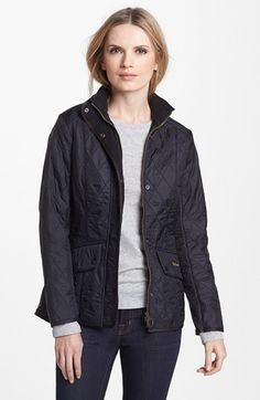 Women's Barbour 'Cavalry' Quilted Jacket