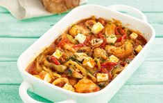 Ένα… παιχνιδιάρικο πιάτο με πλούσιες καλοκαιρινές γεύσεις. #σαγανάκι #γαρίδες