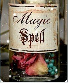 My jar of magic spells