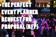 The Perfect Event Planning RFP (Request for Proposal)