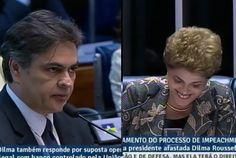 Dilma dá risadinha após ser acusada de mentir e fazer terrorismo aos pobres pra ganhar eleição