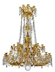 The Most Expensive Antique Chandeliers Sold at Auction Photos   Architectural Digest