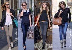 Celebs wearing #Fornarina #PerfectShape #EvaRiccobono #MargarethMadè #MelissaSatta #CristianaCapotondi